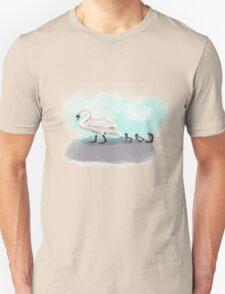 Swans Crossing T-Shirt