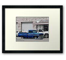 Ol' Blue Framed Print