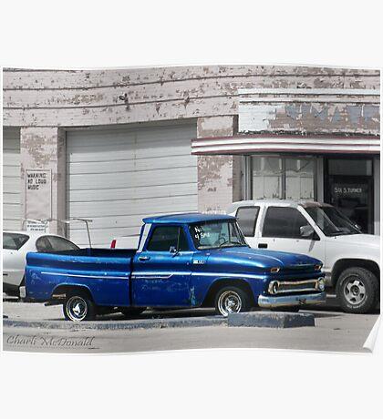 Ol' Blue Poster