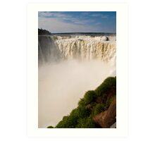 Iguazu Falls - Devil's Gorge Art Print