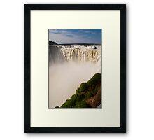 Iguazu Falls - Devil's Gorge Framed Print