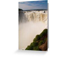 Iguazu Falls - Devil's Gorge Greeting Card