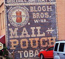 Jonesborough, Tennessee - Ghost Mural by Frank Romeo