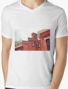 Jonesborough, Tennessee - Small Town Architecture Mens V-Neck T-Shirt