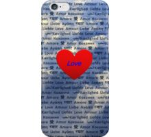 Love is in the Air iPhone Case/Skin