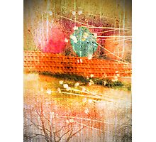 Branches and Brush Strokes Photographic Print