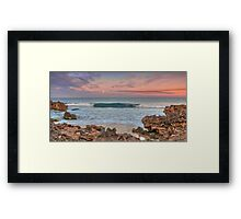 Alone in the Dawn light Framed Print