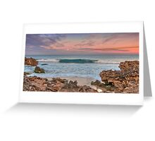 Alone in the Dawn light Greeting Card