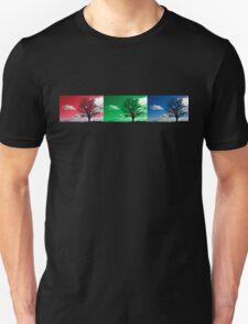 Tri scene silhouette landscape T-Shirt
