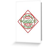taSASSco Fuels The Internet Greeting Card
