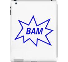 Bam! iPad Case/Skin