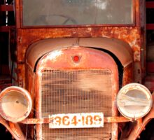 Rusting Truck Sticker