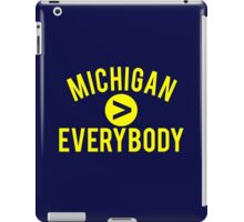 Michigan > Everybody iPad Case/Skin
