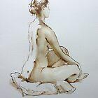 Watercolour Nude by Pauline Adair