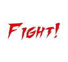 FIGHT! by BigFluffyFozzie