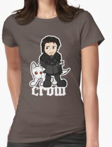 Crow Womens Fitted T-Shirt