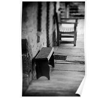 Little Bench Poster