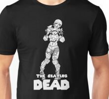 The Skating Dead: Roller Derby Zombie Unisex T-Shirt