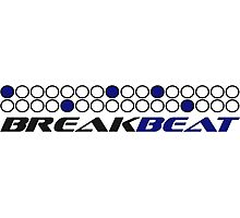 Breakbeat Music Production Pattern Photographic Print
