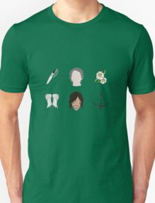 CARYL Symbols - Teal Unisex T-Shirt