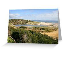 Sand Dune System, South Australia Greeting Card