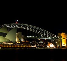 The Coat Hanger, Sydney, Australia by Spir0