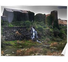 Old Paper Mill - Moorabool River Poster