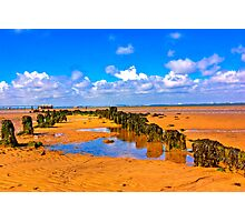 When the Tide is Out Photographic Print