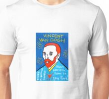 Vincent van Gogh pop folk art Unisex T-Shirt