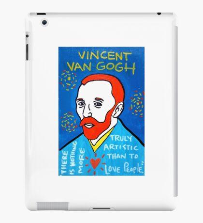 Vincent van Gogh pop folk art iPad Case/Skin