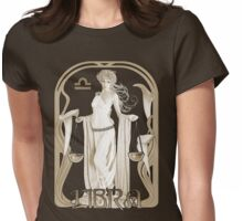 Libra tee Womens Fitted T-Shirt