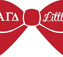 Alpha Gamma Delta - Little Sis Bow by Margaret Young