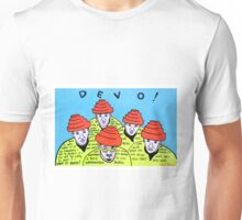 Are we not men! We are DEVO! -  Pop folk art  Unisex T-Shirt