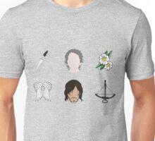 CARYL Symbols - Lime Unisex T-Shirt