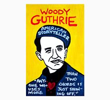 Woody Guthrie Folk Art Unisex T-Shirt