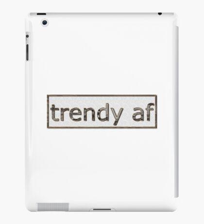 trendy af iPad Case/Skin