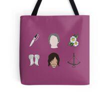 CARYL Symbols - Magenta Tote Bag