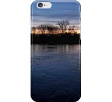 Blue hour flow iPhone Case/Skin