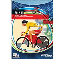 Track Cycling World Championships Poster Photographic Print