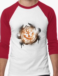 Splatoon Inspired: Graffiti Ranked Battle Icon Men's Baseball ¾ T-Shirt