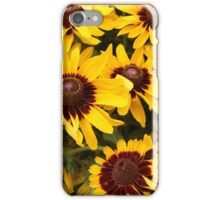 Bright Summer Flowers iPhone Case/Skin