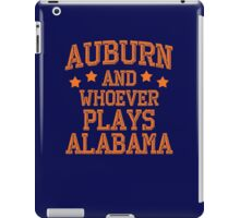Auburn #1 iPad Case/Skin