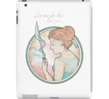 Let me do this for you... iPad Case/Skin