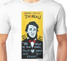 Henry David Thoreau Unisex T-Shirt