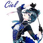 Ciel Phantomhive Book of Circus by xDragon21
