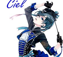 Ciel Phantomhive Book of Circus by xDragon21
