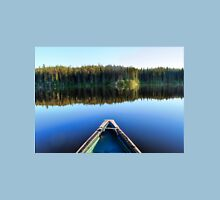 Canoeing on Lonely Lake Unisex T-Shirt