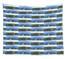 Canoeing on Lonely Lake Wall Tapestry