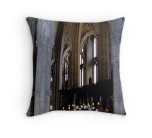 Bristol Cathedral Choir (detail) Throw Pillow
