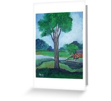 A tree grows...... Greeting Card